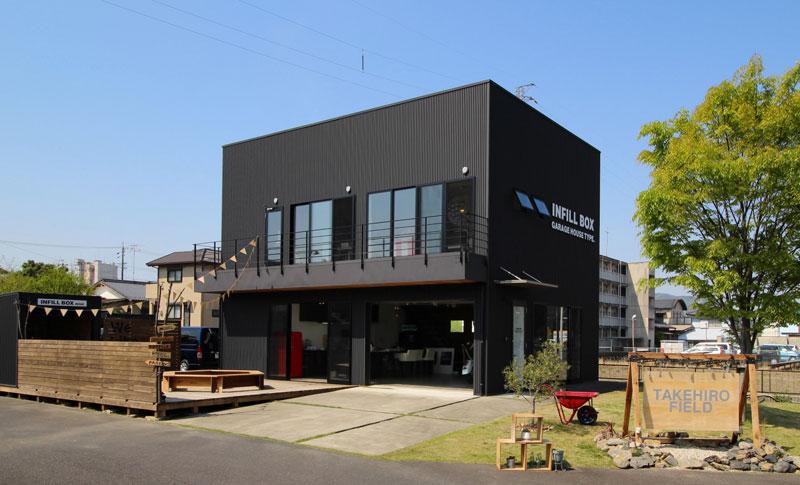 たけひろ建築工房の可児店モデルハウス