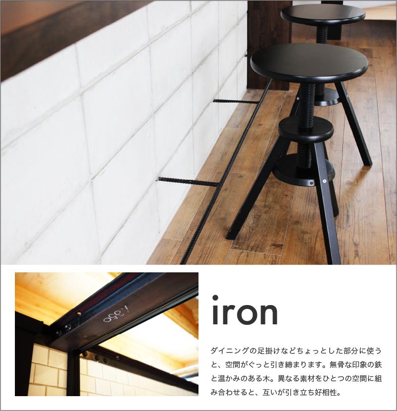 使用素材-アイアン(鉄)の説明